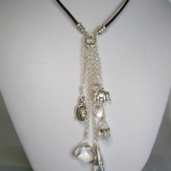 Necklaces & Pendants Fashion Necklace Leather Pendant Nwots Fashion Jewelry